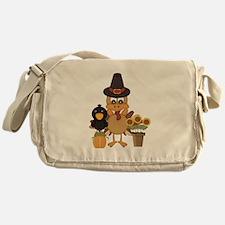 Thanksgiving Friends Messenger Bag