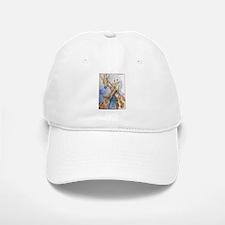 Giraffes, wildlife art, Baseball Baseball Cap