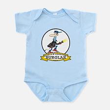 WORLDS GREATEST BURGLAR MEN Infant Bodysuit