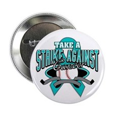 "Strike Ovarian Cancer 2.25"" Button (100 pack)"