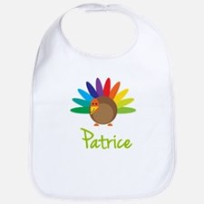 Patrice the Turkey Bib