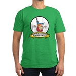 WORLDS GREATEST BUNGEE JUMPER Men's Fitted T-Shirt