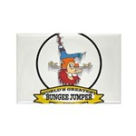 WORLDS GREATEST BUNGEE JUMPER Rectangle Magnet (10