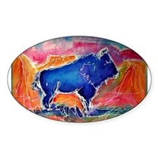 Buffalo,southwest art, Decal