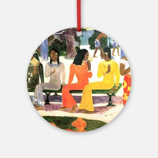 Ta Matete, Gauguin Ornament (Round)