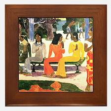 Ta Matete, Gauguin Framed Tile