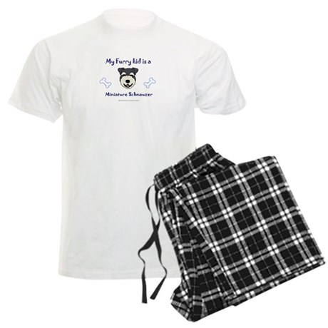 miniature schnauzer gifts Men's Light Pajamas