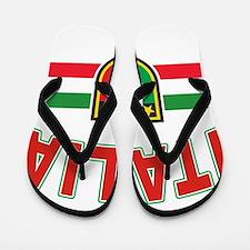italian pride Flip Flops