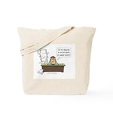 My Degree (Design 1) Tote Bag