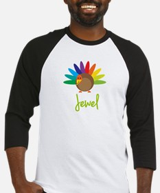 Jewel the Turkey Baseball Jersey