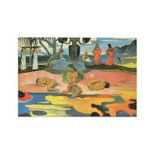 Mahana No Atua, Gauguin Rectangle Magnet