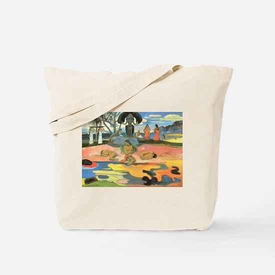 Mahana No Atua, Gauguin Tote Bag