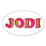 Jodi Sticker (Oval)