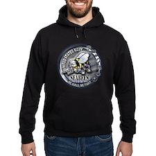 USN Seabees We Build We Fight Hoodie