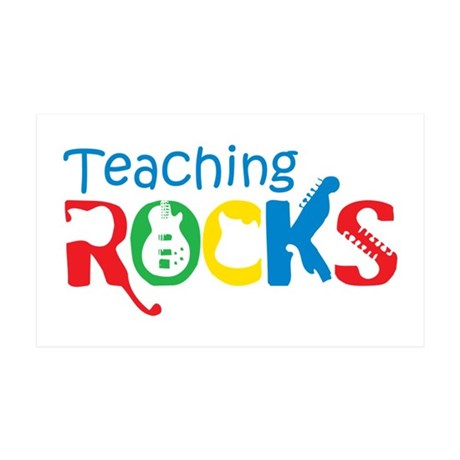 Teaching Rocks 38.5 x 24.5 Wall Peel