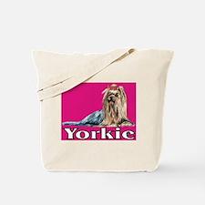 Urban Yorkie Pink Tote Bag