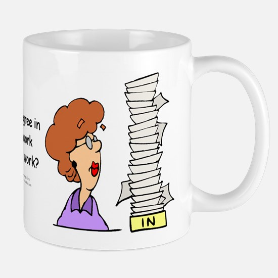 My Degree (Design 2) Small Mug