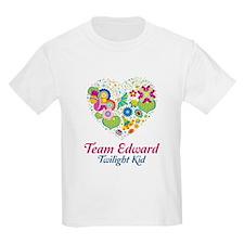 Twilight Mom Floral Heart T-Shirt