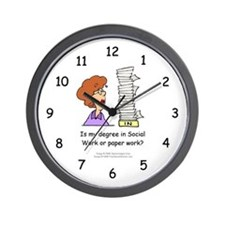 My Degree (Design 2) Wall Clock
