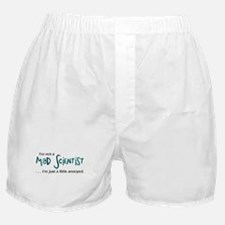 Mad Scientist Boxer Shorts