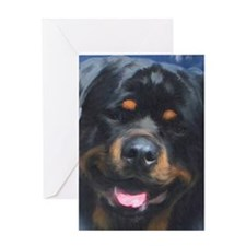 Rottweiler Head Card