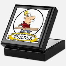 WORLDS GREATEST BUILDER Keepsake Box