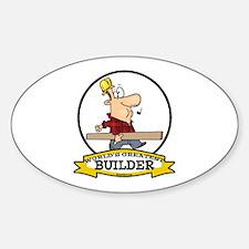 WORLDS GREATEST BUILDER Decal