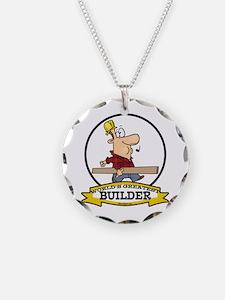 WORLDS GREATEST BUILDER Necklace