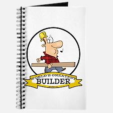 WORLDS GREATEST BUILDER Journal