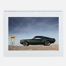 Cute 68 camaro Wall Calendar
