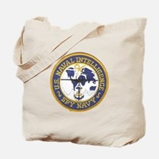Spy Navy Tote Bag