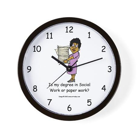 My Degree (Design 3) Wall Clock