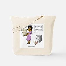 My Degree (Design 3) Tote Bag
