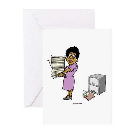 My Degree (Design 3) Greeting Cards (Pk of 10)
