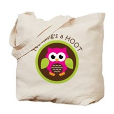 Teaching's a Hoot Tote Bag