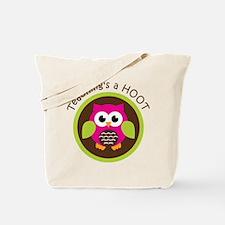 Teaching's a Hoot Tote Bag