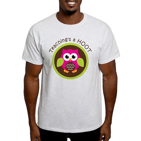Teaching's a Hoot Light T-Shirt