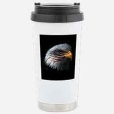 American Flag Eagle Travel Mug