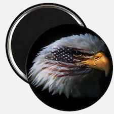 """American Flag Eagle 2.25"""" Magnet (100 pack)"""