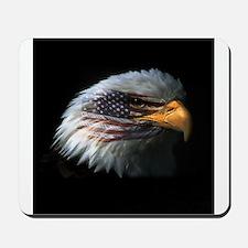 American Flag Eagle Mousepad