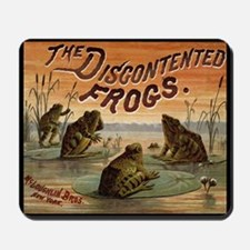 Vintage Frogs Mousepad