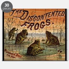 Vintage Frogs Puzzle