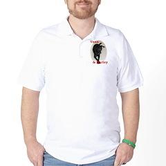 Custom Pet Therapy Shirt Golf Shirt