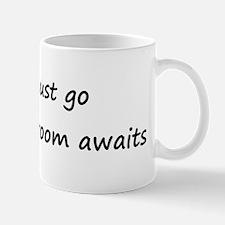 Must go, my Broom awaits Mug