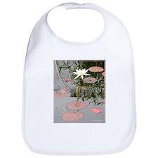 Waterlily, photo, art, Bib