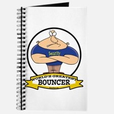 WORLDS GREATEST BOUNCER Journal