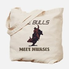 Meet Nurses Tote Bag