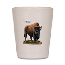 American Bison (Buffalo) Shot Glass