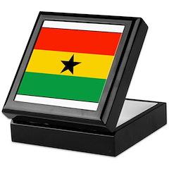 Ghana Keepsake Box