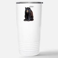 American Black Bear Travel Mug